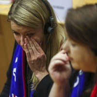 Pro-remain MEPs sing Auld Lang Syne after EU Parliament backs Brexit deal