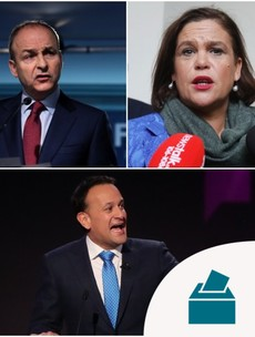 Fine Gael, Fianna Fáil and Sinn Féin have spent over €50k on Facebook adverts so far this campaign
