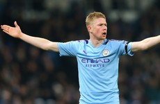'Man United didn't even have one chance' - De Bruyne