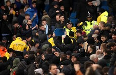 Solskjaer condemns crowd trouble at Manchester derby and explains foul-mouthed rant at Lingard