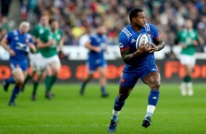 France name two debutants and a frightening backline for England clash