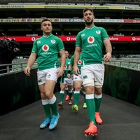 'I was joking that he's going to take my spot' - Stander on Ireland debutant Doris