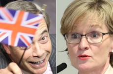 Mairead McGuinness says some of Nigel Farage's colleagues agreed with her cutting him off