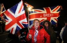 Brexiteers sing God Save The Queen in Belfast as clock strikes 11pm