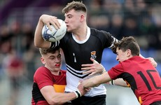 Johne Murphy's Newbridge College book quarter-final spot with 38-point victory