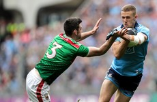 Farrell makes two changes to starting Dublin XV for trip to Mayo
