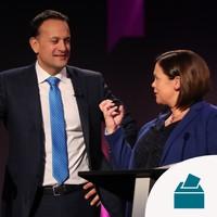 Sinn Féin moves into second place ahead of Fine Gael, new opinion poll says