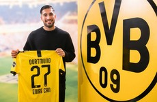 Former Liverpool midfielder joins Borussia Dortmund with obligation to buy for €25 million