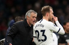 Mourinho: Eriksen lacked motivation at Tottenham