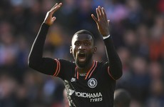 Rudiger scores twice as Chelsea battle back to earn point at Leicester