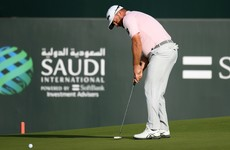 Graeme McDowell takes the lead ahead of final day of Saudi International