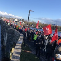 'Fear of being abandoned': Bord na Móna workers hold rally in Shannonbridge