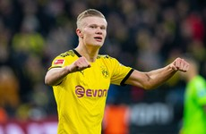 Haaland scores another two goals for Dortmund in thrashing of Union Berlin