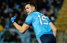 Rock's 1-3 guides Dublin to comfortable win over 14-man Mayo