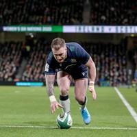 'It was a schoolboy error' - Hogg apologises to Scotland team-mates