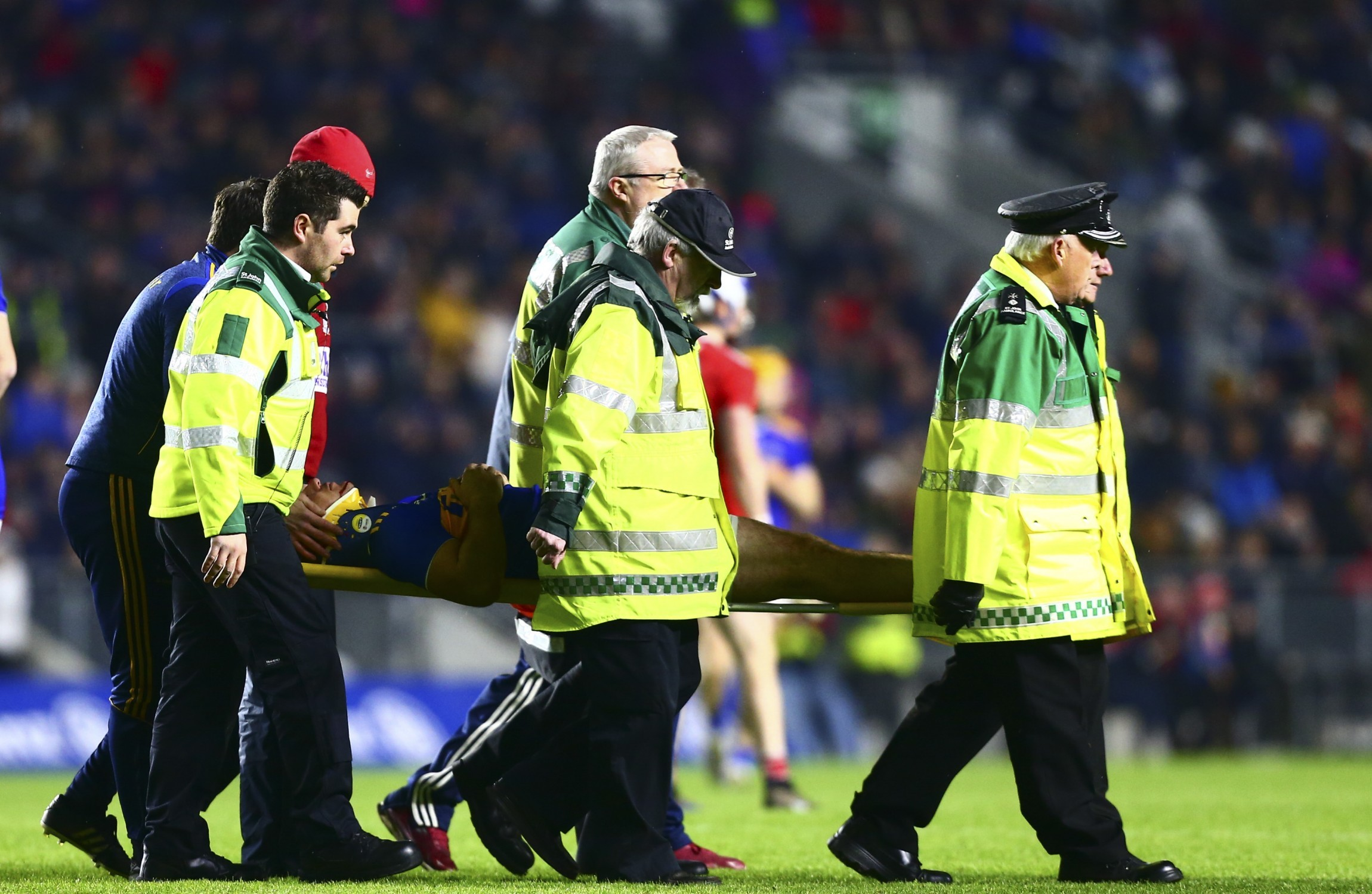 He a bit battered and bruised but hopefully nothing more  - positive update on Tipp ODwyer