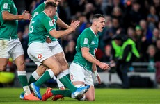 It's all about building momentum and Ireland are up and hobbling