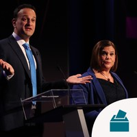 Varadkar admits election looks 'very tight' after poll shows rise in support for Sinn Féin