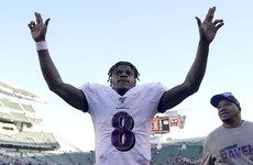 Lamar Jackson crowned NFL's MVP for the season