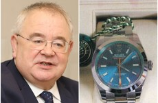 Ceann Comhairle Seán Ó Fearghaíl asked that €7,700 Rolex watch gifted by UAE be donated