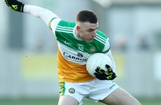 Offaly forward Farrell to miss lengthy spell with nasty foot injury suffered after Sigerson final