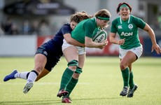 Hard-tackling Caplice thrilled to help Ireland hang tough until Parsons breakaway