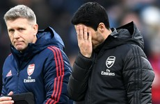 'Arsenal still very far from what I want' - Arteta demands improvement after Burnley draw