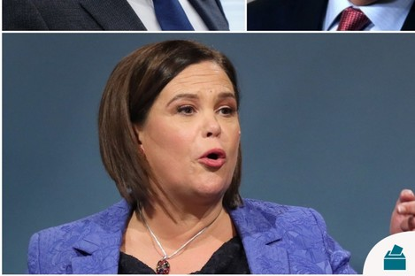 Sinn Féin had sent a legal letter to RTÉ objecting to Mary Lou McDonald's exclusion.