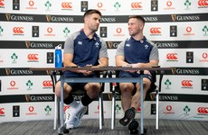 Cooney and Murray side-by-side and content to keep challenging each other