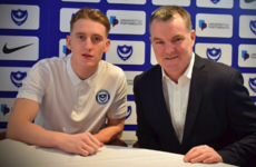 Ireland winger sets sights on Pompey promotion after inking long-term deal