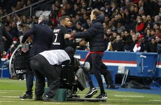 'There is nothing personal between him and me' - PSG boss plays down Mbappe sideline row