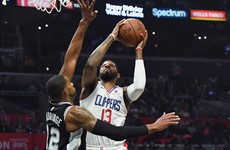 George inspires Clippers to win over Spurs, Heat coast to 76ers victory