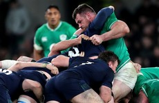 Healy 'annoyed' about scrum penalties as Ireland's forwards strive for more
