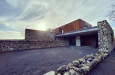 'The entire house is unique': Life inside this striking Galway home that blends into the landscape