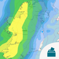 Storm Ciara to arrive on election day before 'extremely disturbed' weather next week