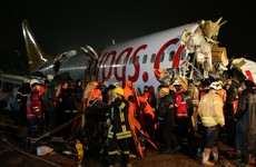 120 people injured after plane skids down runway and breaks apart in Istanbul