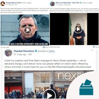 Sinn Féin's surge could be seen on Facebook before it showed up in the polls