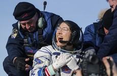 Record-breaking US astronaut returns to Earth after longest mission by woman