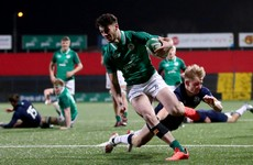 Speedster Smith and Ireland U20 ready to move through the gears against Wales