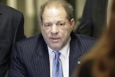 Weinstein in court today.