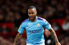 Man City suffer Raheem Sterling setback