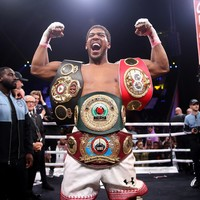 Anthony Joshua set for homecoming fight