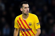 Busquets: Messi row not to blame for Barca's shock cup exit