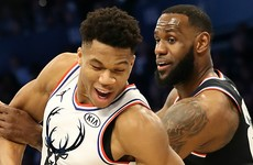 Team LeBron and Team Giannis pick squads for NBA All-Star Game