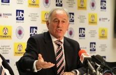 Rangers set for Scottish Premier League rejection