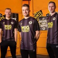 St Patrick's Athletic go black and yellow with new away kit