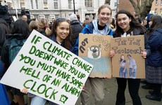 'We're the ones who will suffer': Secondary school students stage climate change protest