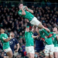 Ready for lift off - James Ryan wants to take Ireland to a higher level