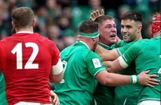 Farrell's Ireland excite Dublin crowd with impressive bonus-point win over Wales