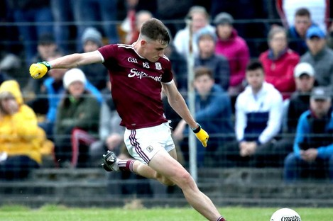 Matthew Tierney top-scored for Galway (file pic).